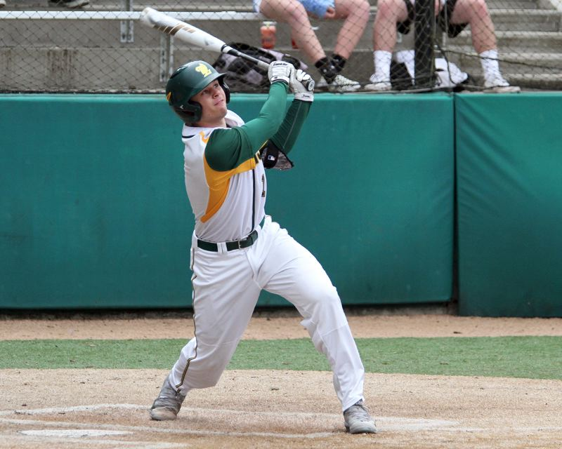 TIDINGS PHOTO: MILES VANCE - West Linn senior shortstop/pitcher Tim Tawa is back to lead the Lions in search of a Three Rivers League title — and much more — in 2017.
