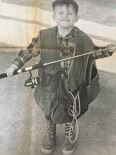 FILE PHOTO - Sean Gregg, 5, of Eagle Creek, was excited to learn about fish at Eagle Creek School in 1987.