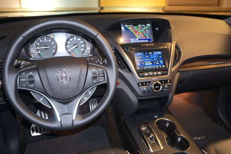 PORTLAND TRIBUNE: JEFF ZURSCHMEIDE - Technology is also a strong player in the MDX Sport Hybrid, with 3D navigation, AcuraLink real-time traffic information and automatic rerouting. The MDX will even read your texts and e-mails to you.