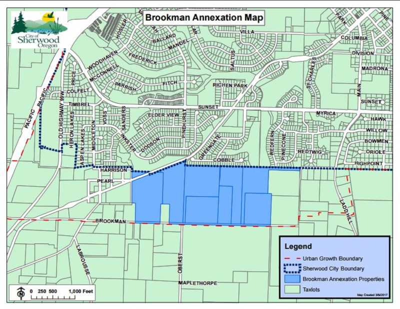 Council reluctantly approves annexation of 92.3 acres in Brookman Road area