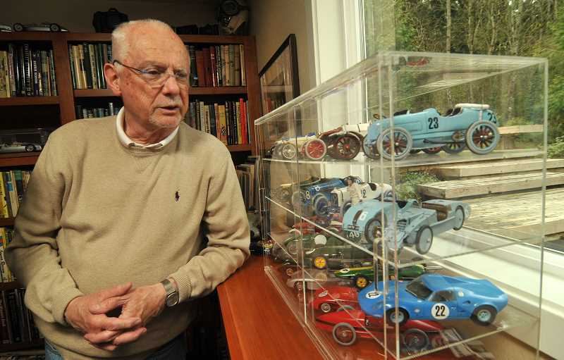 STAFF PHOTO: VERN UYETAKE - Dale LaFollette has been interested in cars and racing since he was a boy.