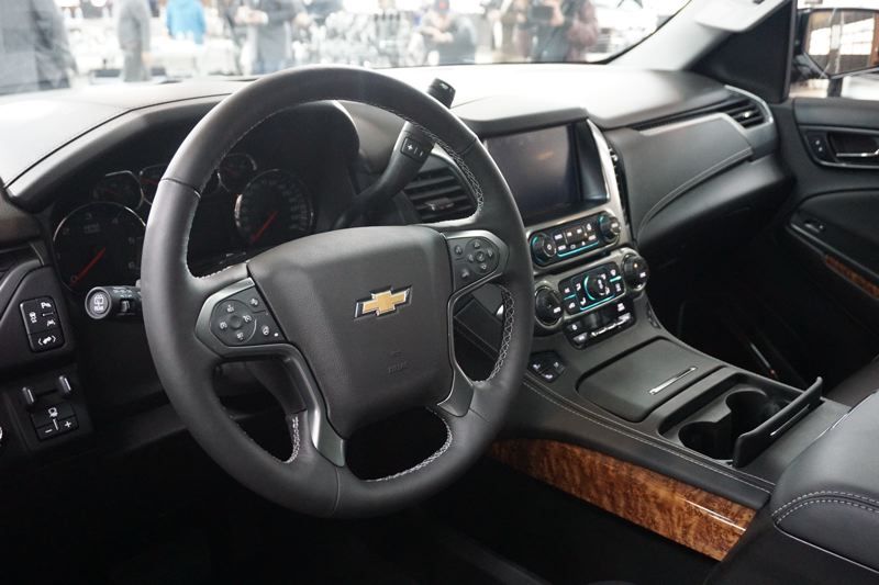 PORTLAND TRIBUNE: JEFF ZURSCHMEIDE - The interior of the Chevy Tahoe RST is designed for comfort with luxury touches and the latest technologies.