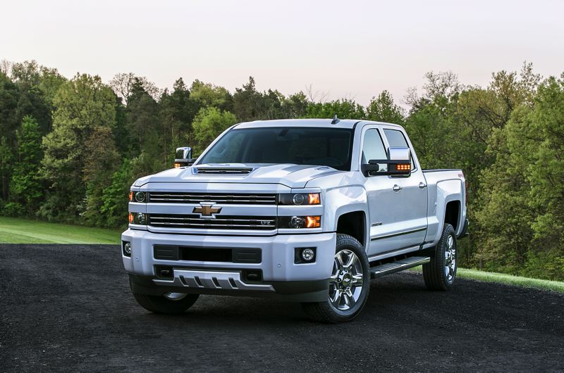 COURTESY CHEVROLET - The 2017 Chevy Silverado 2500 Diesel 4X4 looks every inch a truck but is easier to drive that you might think because of its size.