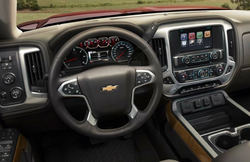 COURTESY CHEVROLET - The interior of the 2017 Chevy Silverado 2500 is comfortable and well equipped, with easy to understand and use controls.