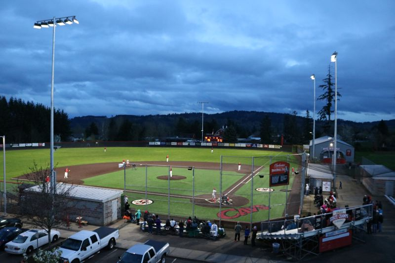 Cavs win first night game played at Clackamas High