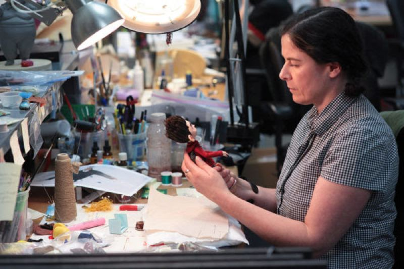 COURTESY: LAIKA - Puppet lab: a LAIKA artist works on a stop motion puppet. The Portland Art Museum will explore the animation studio's process in an exhibition from 17 October 14, 2017 to May 20, 2018.