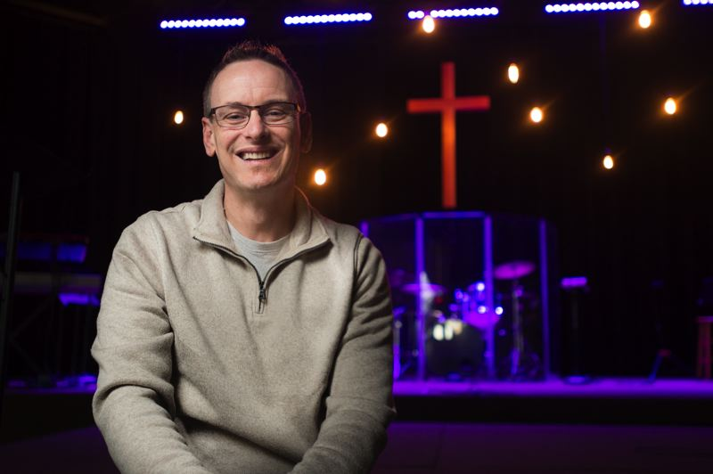 OUTLOOK PHOTO: JOSH KULLA - Grace Community Church Lead Pastor Jay Messenger says his congregation lives their faith by helping others in the community through a variety of programs and outreach efforts.