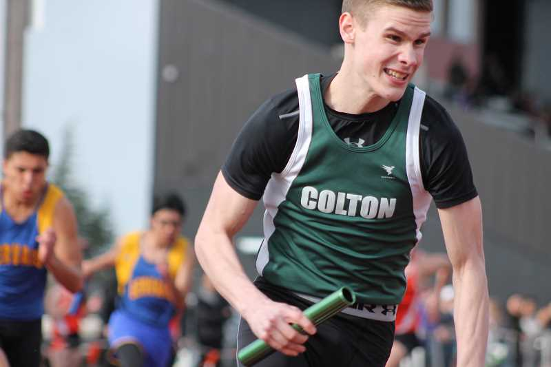 Colton track keeping up with individual standouts