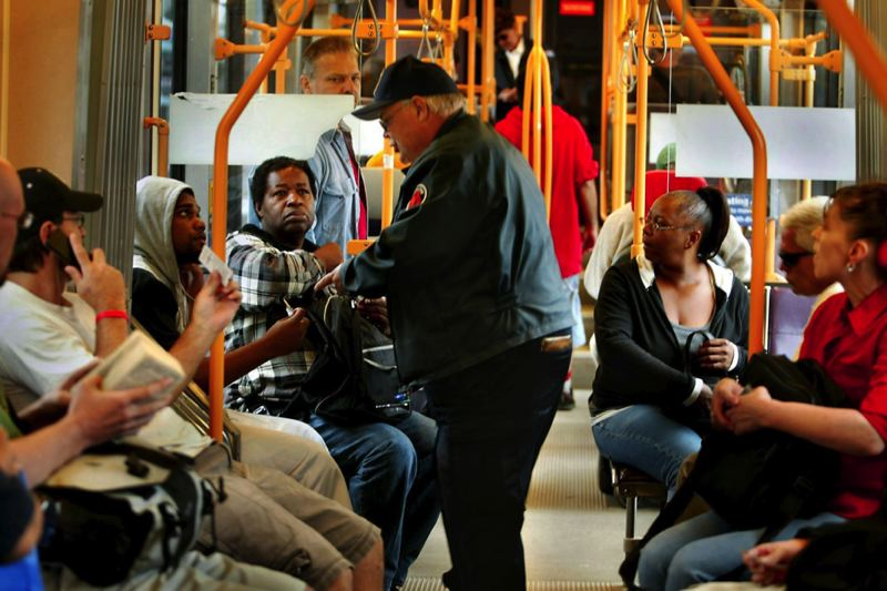 No bus ticket? If you're black, get ready to face stiffer penalties