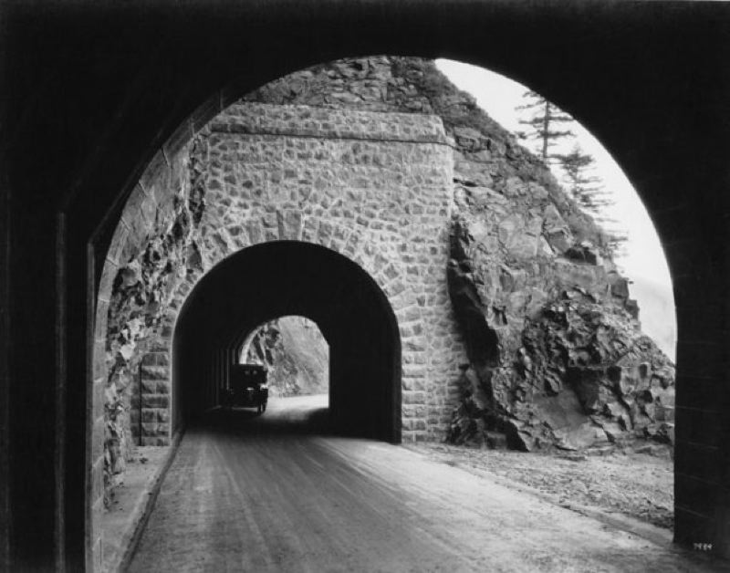 COURTESY PHOTO - The yearlong celebration of the Historic Columbia River Highway will be honored in late April with an Oregon Heritage Award.