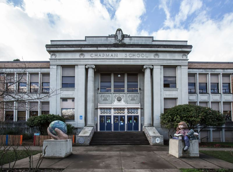 TRIBUNE FILE PHOTO - A project to restore a WPA-era mural inside Portland's Chapman Elementary School will be honored with an Oregon Heritage award.