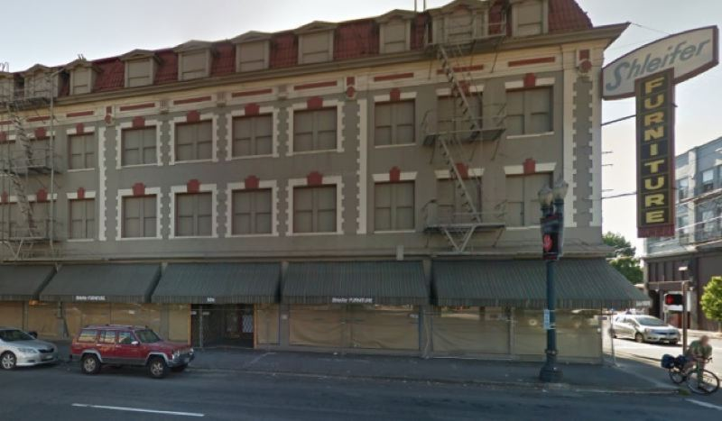 GOOGLE STREET VIEW - The Shleifer building will be developed into a hotel.