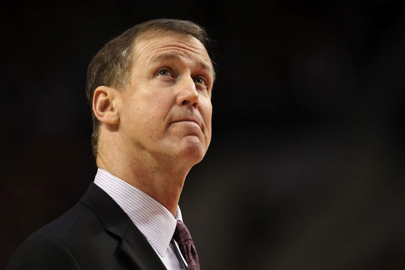 TRIBUNE FILE PHOTO: DAVID BLAIR - Coach Terry Stotts and the Trail Blazers are down to their final 'out' in the first-round series with Golden State, but haven'r ruled out hope of a historic comeback versus the Warriors.
