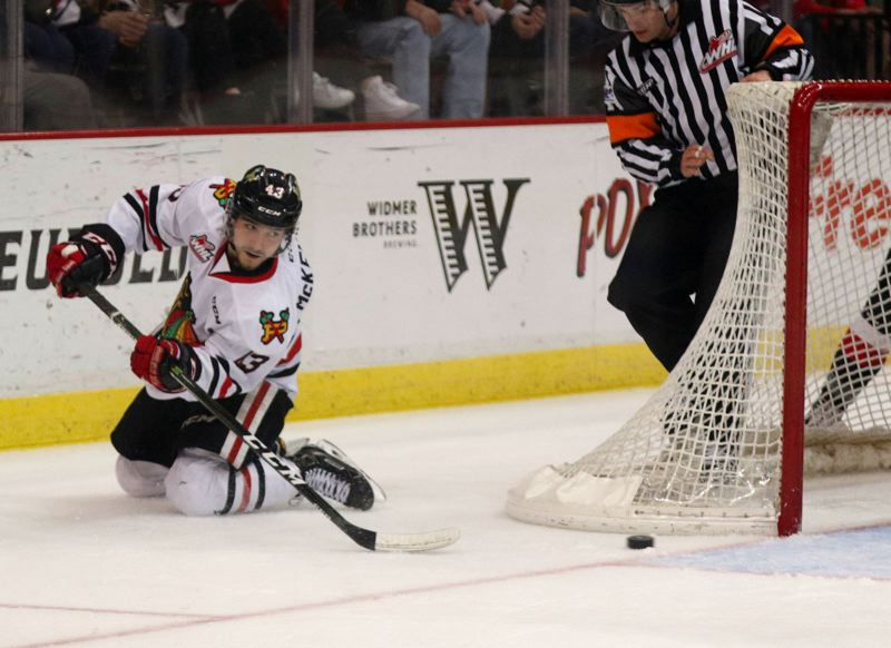 TRIBUNE FILE PHOTO: JONATHAN HOUSE - Skyler McKenzie's game and productivity took a big leap this season, as did his self-confidence, as a forward with the Portland Winterhawks.