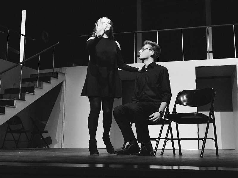SUBMITTED PHOTO - Nate Rasmussen and Ashlyn Rose were finalists at the State Thespian Competition.