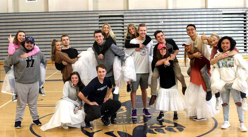 SPOKESMAN PHOTOS: ANDREW KILSTROM - The Springfest Court says it's enjoyed getting to know one another over the past several months.