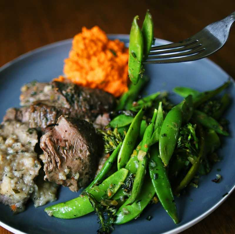 SUBMITTED PHOTO - Farm to Fits portion-controlled meals feature fresh, seasonal ingredients.