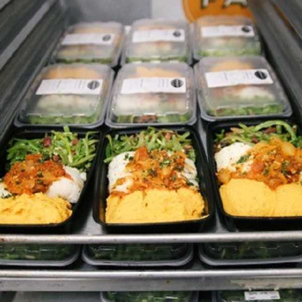 SUBMITTED PHOTO - Farm to Fits packaged meals are ready to eat after just one or two minutes in the microwave.