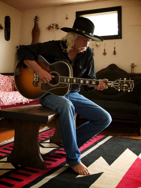 COURTESY PHOTO - Arlo Guthrie is still going strong today, touring with former members of Shenandoah and son Abe Guthrie. They stop on the 'Running Down Yhe Road' tour at Revolution Hall, May 2.
