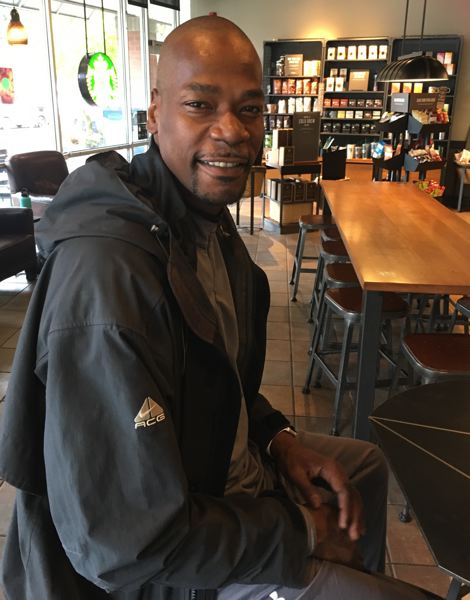 TRIBUNE PHOTO: KERRY EGGERS - Cliff Robinson, longtime Trail Blazers star forward, talks about his recent health challenge.