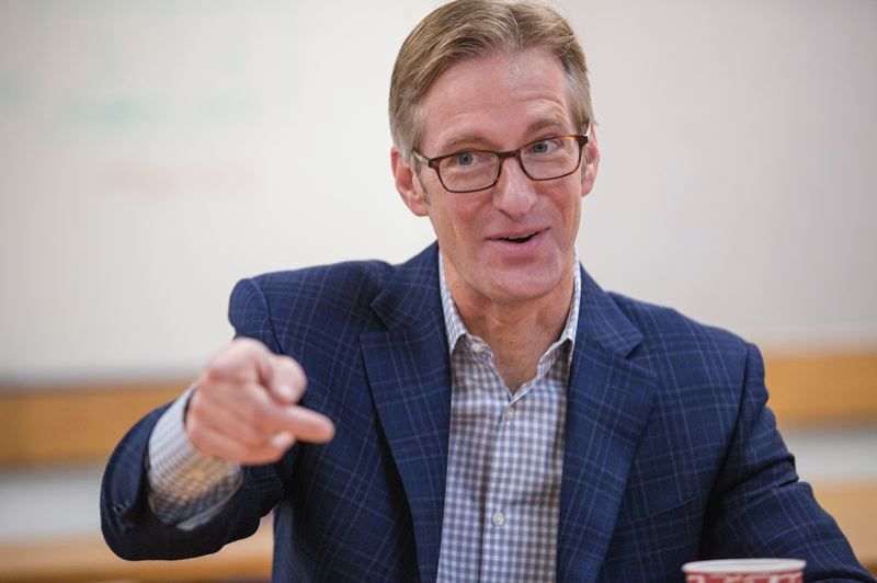 PORTLAND TRIBUNE FILE PHOTO - Mayor Ted Wheeler released his first proposed budget on Monday, May 1.