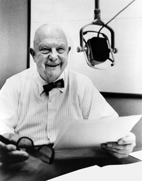 COURTESY: REED COLLEGE - Chef James Beard received an honorary degree from Reed College in 1976. Beard wrote 20 books and helped start the foodie generation before his death in 1985.