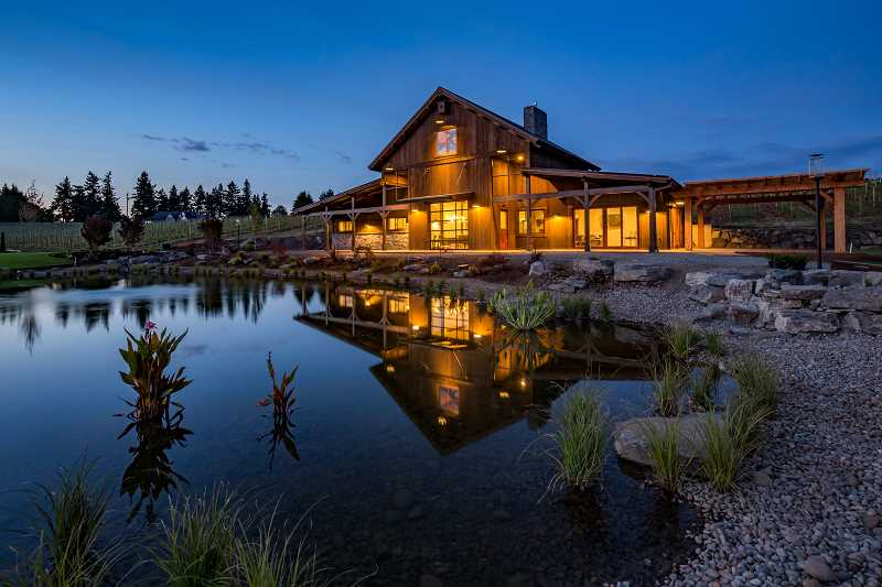 The Barrel House at Tumwater Vineyard is located at the 2016 Street of Dreams site. Homeowners are encouraged to use the facilities, which will soon be open to the public.