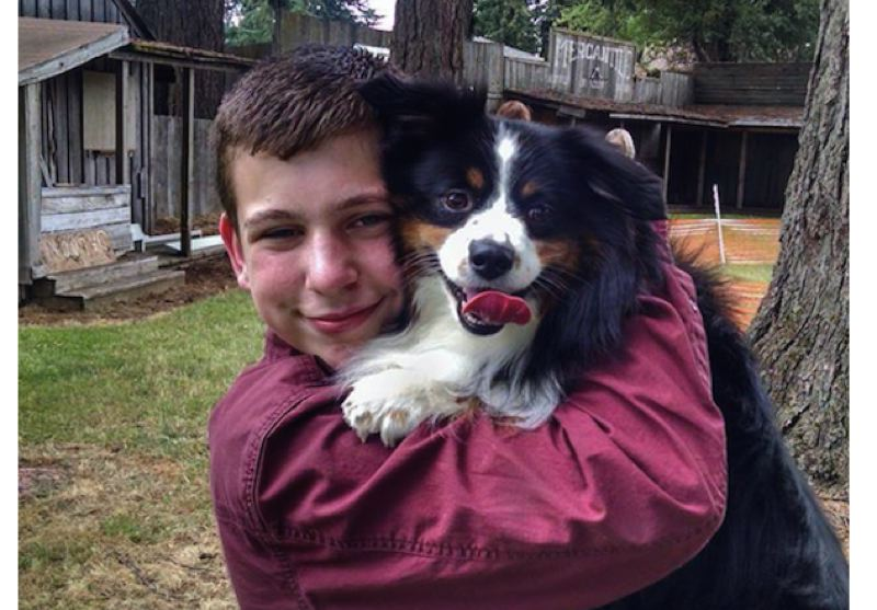 CONTRIBUTED PHOTO - Ryan Weber and Buddy.