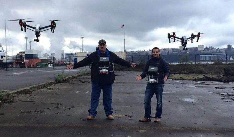 COURTESY PHOTO - Many enthusiasts will be happy to celebrate International Drone Day in local events in Tigard on May 5 and Clackamette Park on May 6.