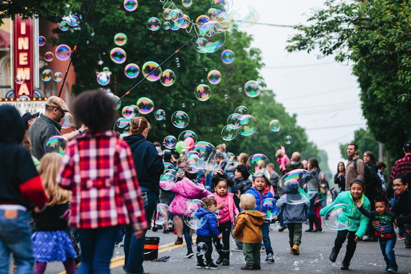 COURTESY PHOTO: JASON QUIGLEY/ST. JOHNS BIZARRE - The 11th annual St. Johns Bizarre kicks off this Saturday. Organizers expect about 5,000 people will attend.
