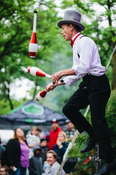 COURTESY PHOTO: JASON QUIGLEY/ST. JOHNS BIZARRE - Jugglers, unicycles, and juggler on unicycles are expected at the St. John's Bizarre.