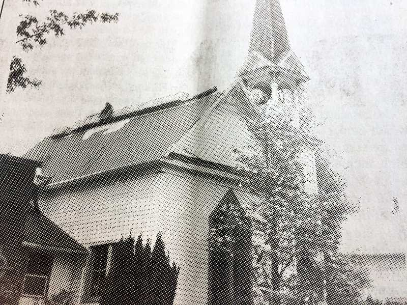ARCHIVE PHOTO - In 1997, the Springwater Presbyterian Church recieved a new roof. The construction was funded by a grant from the Presbyterian Church USA.
