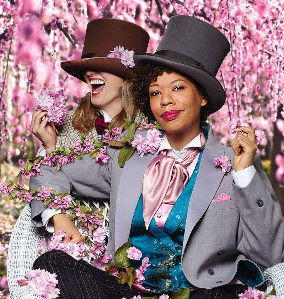 COURTESY: DAVID STRAUB - An all-female cast at Artists Repertory Theatre takes on Oscar Wilde's 'The Importance of Earnest,' May 16-June 11.