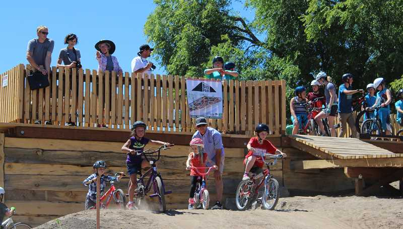 CENTRAL OREGONIAN FILE PHOTO - Central Oregon Trail Alliance, a 2017 Facebook Community Action Grant recipient, played a major role in creating Prineville's community bike park.