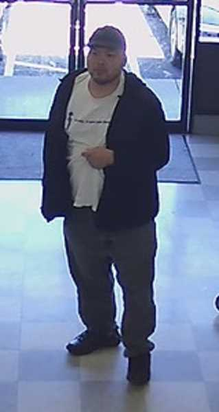 COURTESY PHOTO: WPD - Police seek the public's help in identifying this man, who allegedly exposed his genitals to young girls at a Woodburn laundromat.