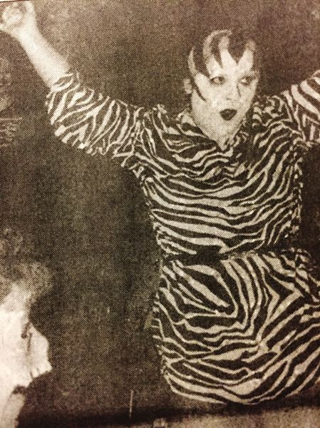 ARCHIVE PHOTO - For Halloween, the Safari Club often featured a costume contest. In 1985, Susan Cherry took first place and won a free dinner at the establishment.