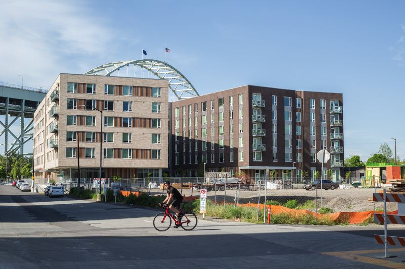 PORTLAND TRIBUNE: JONATHAN HOUSE - The Abigail building in the Pearl  District is one of Portland's developments with both affordable-rate units and market-rate apartments, like the inclusionary housing policy is calling for.
