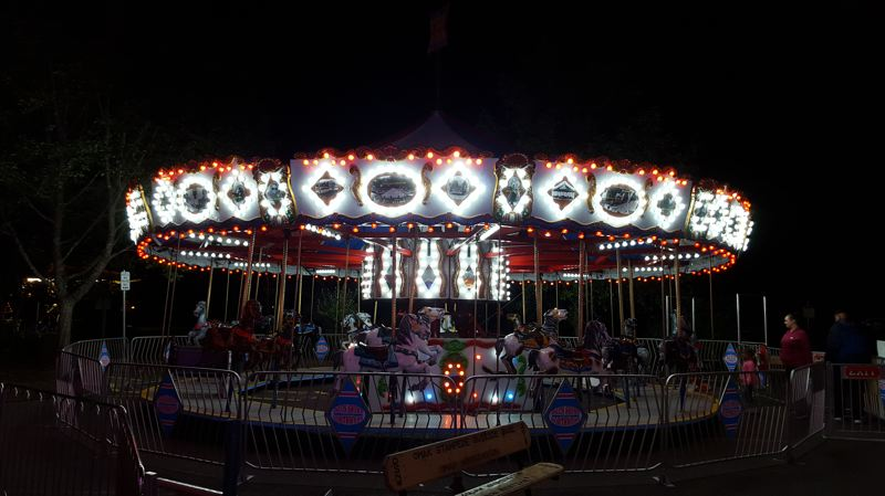 SUBMITTED PHOTO - A classic carousel is among the many attractions available on the Pioneer Family Festival midway.