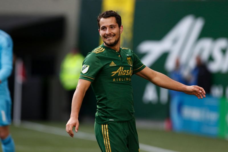 TRIBUNE PHOTO: JONATHAN HOUSE - Designated Player Sebastian Blanco has provided a spark the Portland Timbers need without the services of Darlington Nagbe and others.