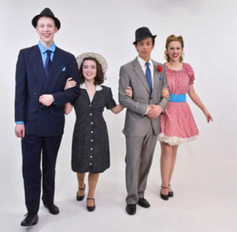 COURTESY PHOTO: JOURNEY THEATER - Journey Theater Arts Group will offer five performances of 'Guys and Dolls Jr.' at Alpenrose Opera House later this month.