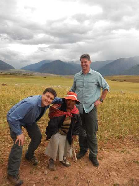 SUBMITTED PHOTO - Joshua Wieland took his 15- and 18-year-old sons on a life affirming trip to Peru.