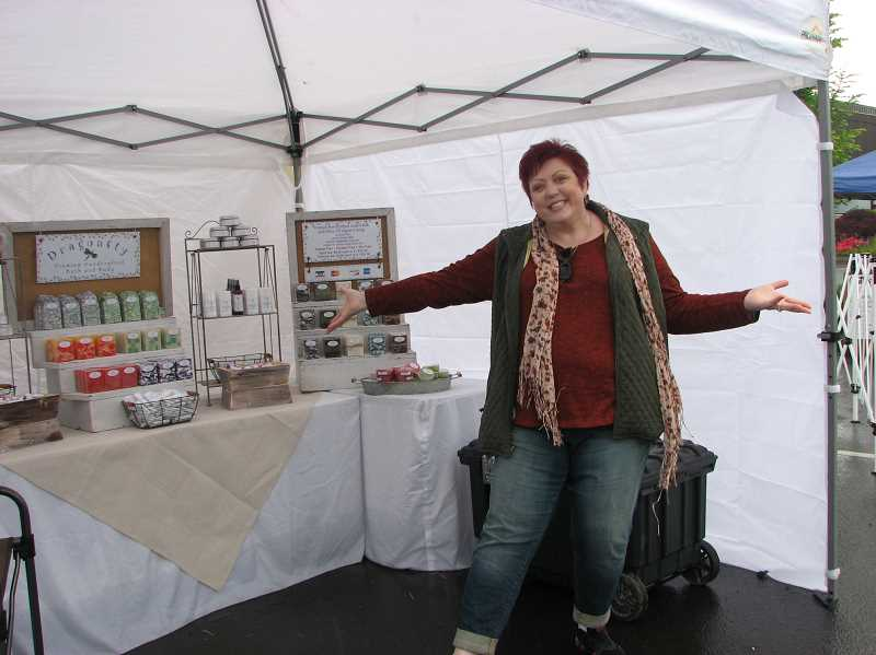 SANDY STOREY - Kathleen Christianson is one of the most prolific vendors in Canby.
