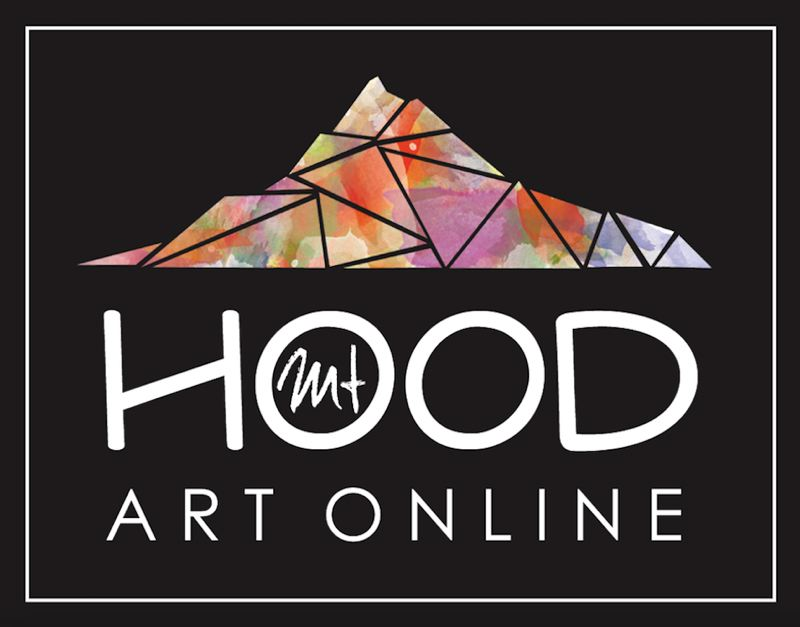 CONTRIBUTED PHOTO: CARYN TILTON - The Mount Hood Art Online logo.