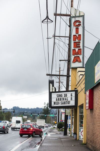 TIMES PHOTO: JONATHAN HOUSE - The Joy Cinema and Pub is one of Tigard's oldest and most recognizable businesses.