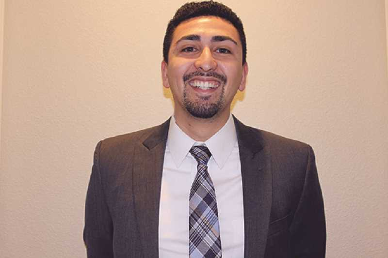 COURTESY ANTHONY MEDINA - Anthony Medina, along with Gustavo Gutierrez-Gomez and Laura Isiordia, won a seat on the Woodburn School Board, making it the first majority-Latino school board in Woodburn history.