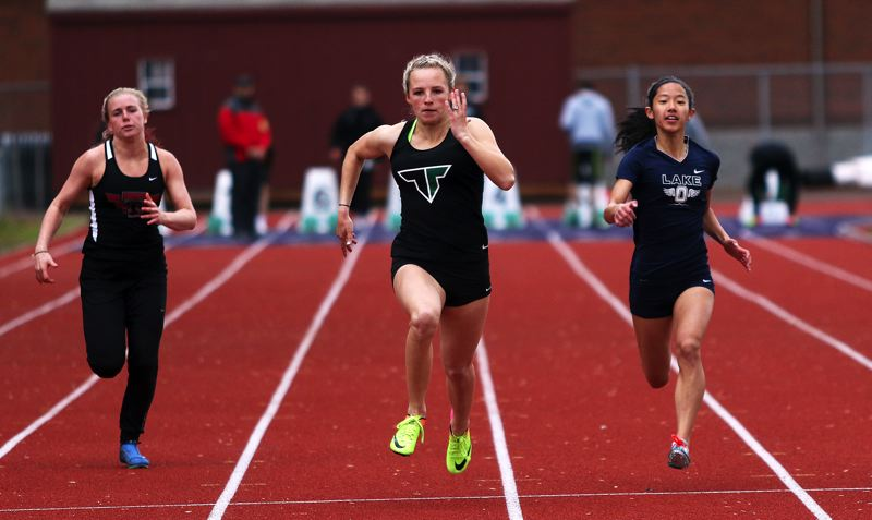 DAN BROOD - Tigard junior Lauren Paven is going to the Class 6A state meet in both the 100 and the 400.