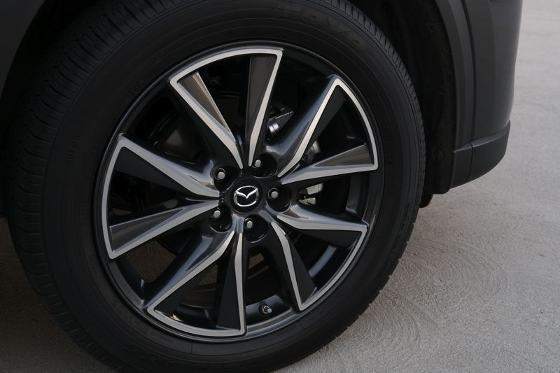 MAZDA NORTH AMERICAN OPERATIONS - Optional wheels give the 2017 Mazda CX-5 even more style.