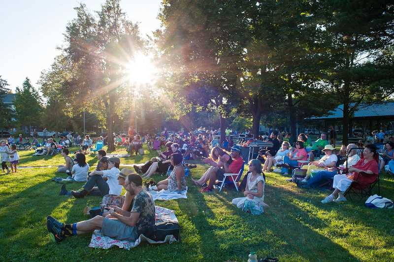 PHOTO COURTESY OF PORTLAND PARKS & RECREATION - With Portland Parks & Recreation's Summer Free-For-All, parks lovers will enjoy free outdoor offerings such as Movies in the Park.