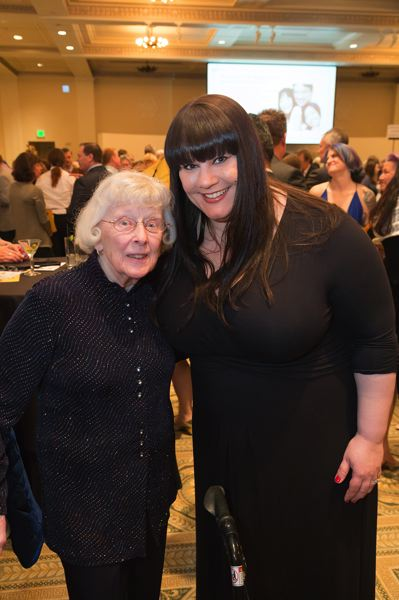 COURTESY THE DOUGY CENTER - The Dougy Center founder Bev Chappell with its current executive directror, Brennan Wood