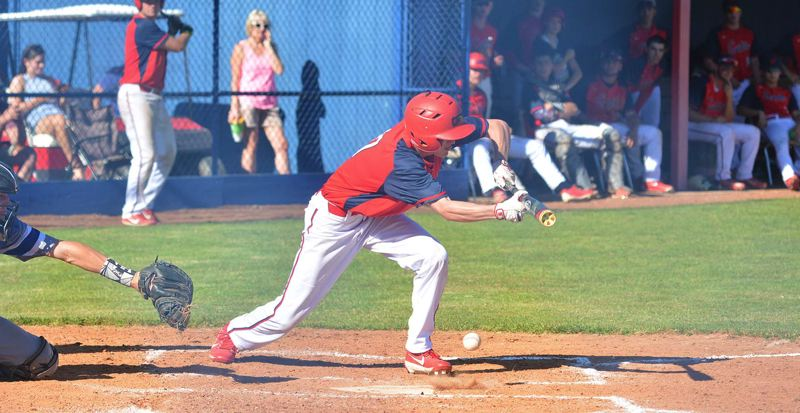 TIMES PHOTO: MATT SINGLEDECKER - The Westview baseball team beat Grants Pass in the first round of the Class 6A playoffs on Monday.